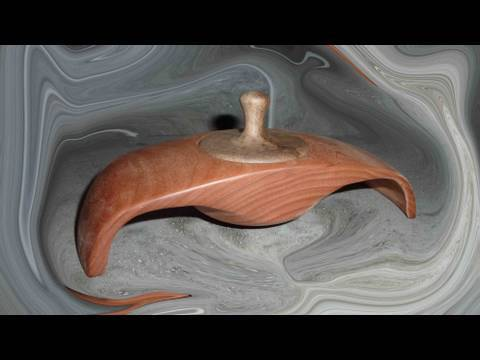 Woodturning Projects Winged Box 2 of 2
