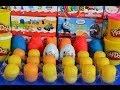 24 Play-Doh Kinder Surprise Eggs Spiderman Peppa Pig Hello kitty ben 10 LPS