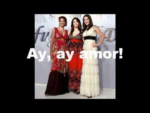 Claudia Sierra - Ay Amor con Letra (Profugas Del Destino)