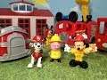 Paw Patrol, Mickey Mouse Clubhouse, And Peppa Pig Comparison Of Fire Truck And Fire Engines Toys