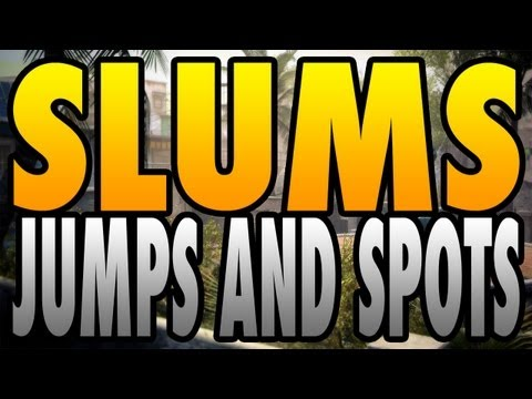 BO2 Jumps and Spots - Slums (Black Ops 2)