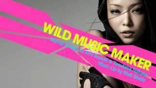 Wild Music Maker - Namie Amuro vs Ami Suzuki and Yasutaka Nakata [Mash Up by Matt Slade]