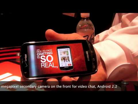 Verizon Samsung 4G LTE Android Phone Hands-On from CES 2011