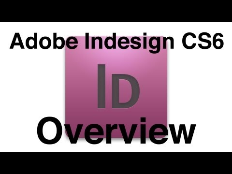Indesign CS6 Tutorial: Basic Rundown Of Design Tools