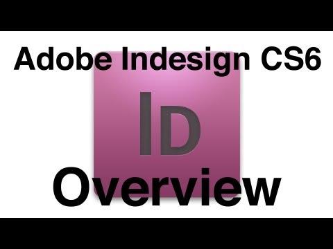 Indesign CS6 Tutorial: Basic Rundown Of Design Tools