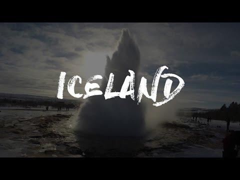 8 days ICELAND | Winter roadtrip | Gopro