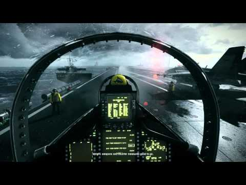 Battlefield 3 MAXED GTX 580 SLI Config - Ultra Setting 1920X1080 -Jet Carrier Start