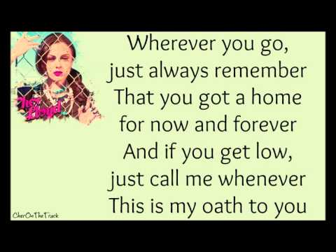 Cher Lloyd ft. Becky G - Oath Lyric Video
