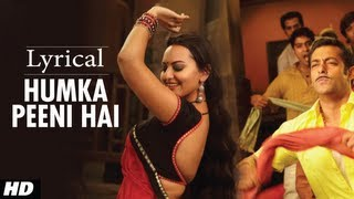 Humka Peeni Hai Full Song with Lyrics | Dabangg