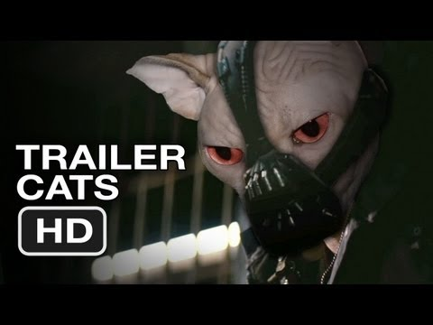 The Dark Knight Rises Official TRAILER CATS - Christian Bale, Batman (2012) HD