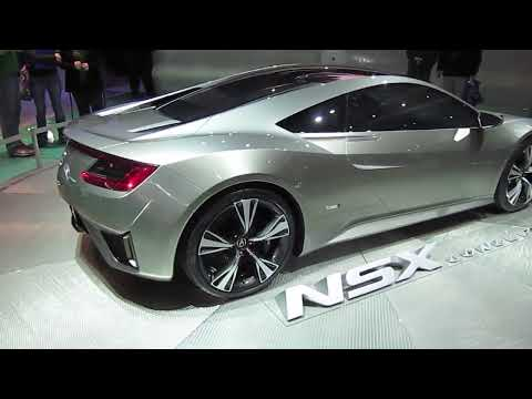 2013 ACURA NSX CONCEPT INTRODUCED -- 2012 DETROIT AUTO SHOW