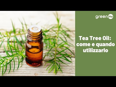 Quando e come utilizzare  il tea tree oil?