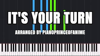 It's Your Turn - Boku no Hero Academia 3 [Piano Tutorial] (Synthesia) // PianoPrinceOfAnime