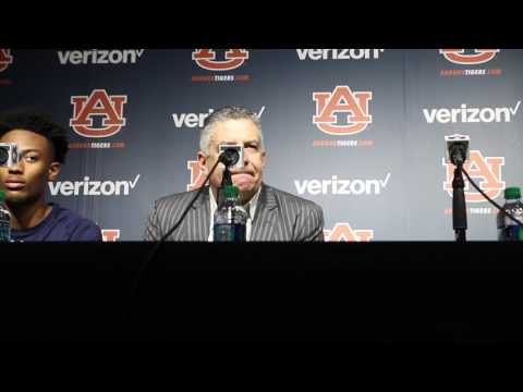 Auburn vs Florida Press Conference 2017