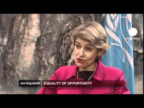 euronews learning world - UNESCO targets education
