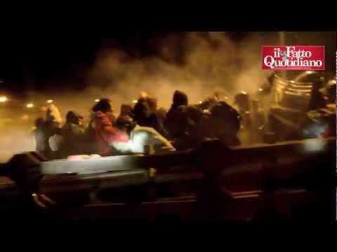No Tav, notte di scontri in Val Susa