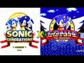 Sonic Generations Vs Sonic 1 Do Mega Drive