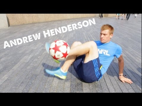 Andrew Henderson   World Football Freestyle Champion STRskillSchool