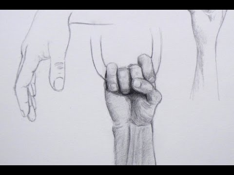 How to Draw Realistic Hands - Different Ways