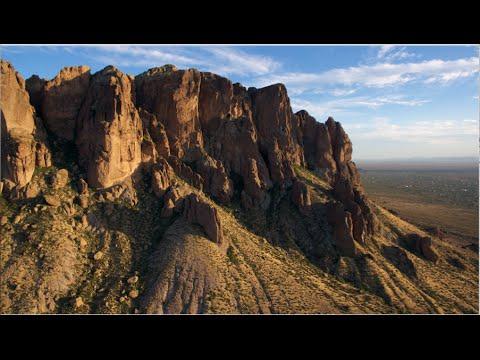 DJI Phantom 3 Pro Footage at Superstition Mountains