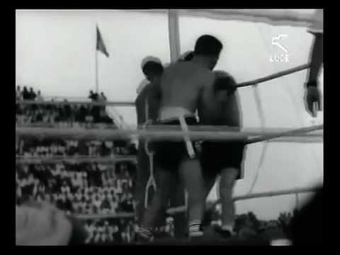 Duilio Loi vs Fortunato Manca all'Amsicora / 19 Luglio 1962 [Istituto LUCE]