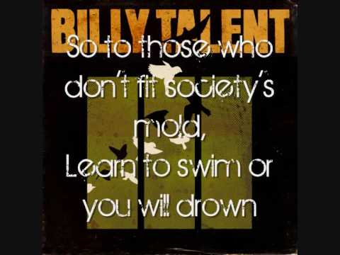 Billy Talent - The dead can't Testify with lyrics