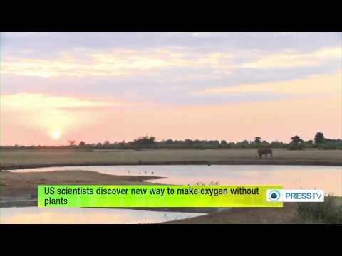 US (Scientists) discover new way to make Oxygen without plants   10/6/14