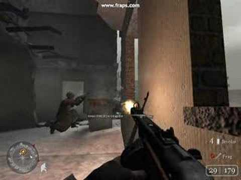 Call of Duty 2 Mission 2 Demolition