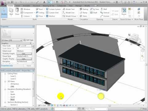 Revit Architecture/Green Building Studio - Designing Architectural Shading Features