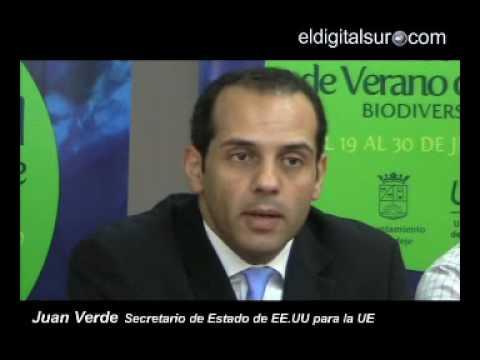 """Secretario Estado USA - UE Juan Verde: """"Canarias podría ser 100% sostenible"""""""
