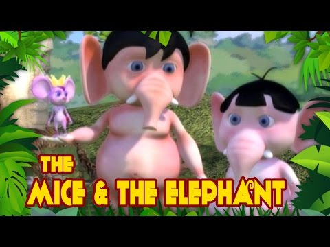 Jungle Tales - Mice And The Mighty Elephants - Panchatantra Tales In English