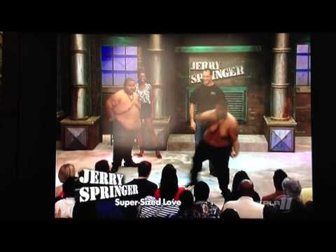 JERRY SPRINGER ....... Fatty boy brothers gettin down