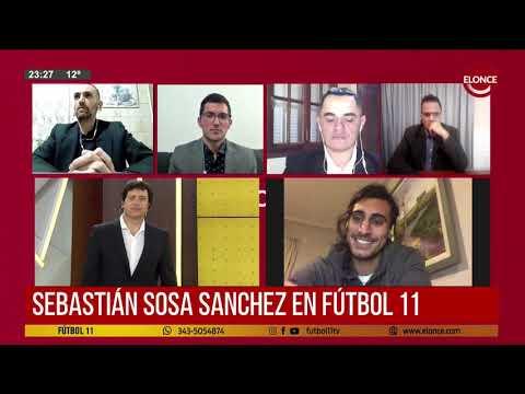 Sebastián Sosa Sánchez habló de su actualidad en Patronato