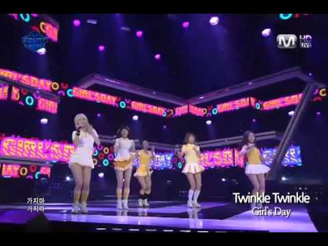 [K-POP] Mnet - M countdown, Girl`s Day - Twinkle Twinkle