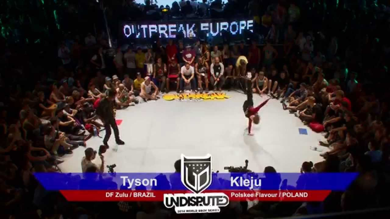 Outbreak Europe 2014 1vs1 World Bboy Series Top 8 | Kleju vs Tyson