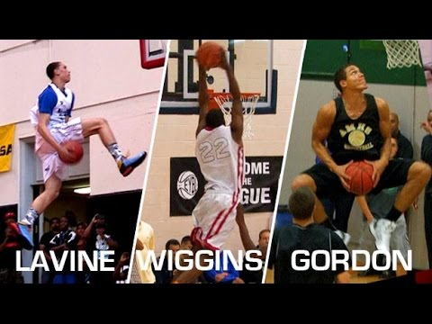 Andrew Wiggins vs Zach LaVine vs Aaron Gordon! 2014 NBA Dunk Contest Preview?