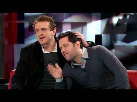 Paul Rudd and Jason Segel on The Hour with Strombo