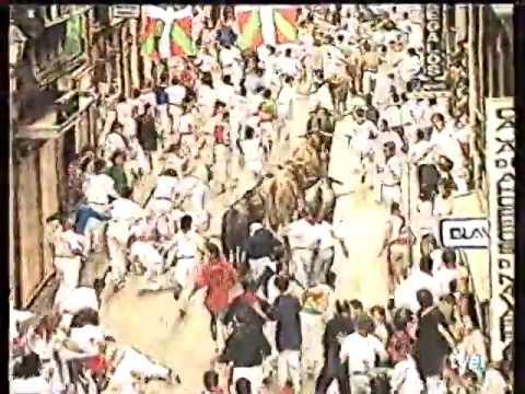 Encierro San Fermín   13 de julio de 1995 480p