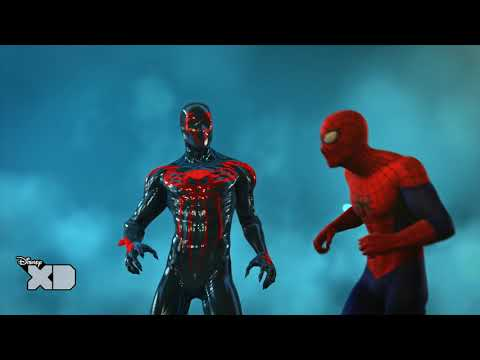 Official - Ultimate Spider-Man: Web Warriors - The Spider Verse - Spider-Man 2099 - HD
