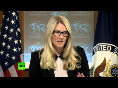 State Dept grilled by press corp offensive over Gaza  7/31/14 (White House)