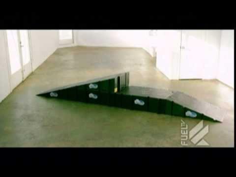 Landwave Skateboard Ramps on FUEL TV