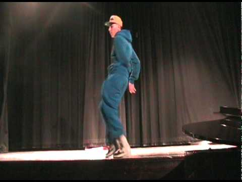 Reunion performance (tutting, popping and c-walking)
