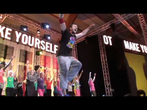 Steve Boedt - Zumba - Netinho - Me Siga - the Nike Blast 2011 Sweden