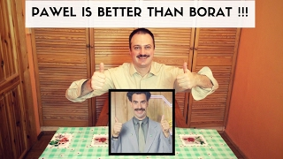 Biskup - Why Paweł Famous Vloger is better than Borat Sagdiyev?
