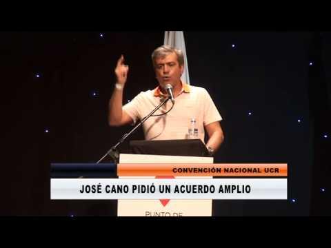 <b>Convenci�n UCR.</b> Qu� dijo Cano en Gualeguaych� del acuerdo exclusivo con el PRO