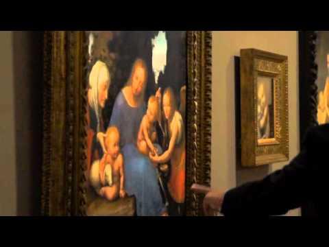La SANT'ANNA di Leonardo da Vinci inaugura al Louvre con Ferragamo