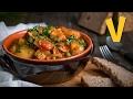 Mushroom and Potato Stew