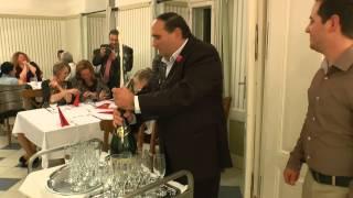 A Szöllősi család vendéglátásban eltöltött 50 éves jubileumi ünnepsége