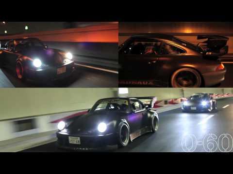 [0-60] Porsche 911 RAUH-Welt in Tokyo