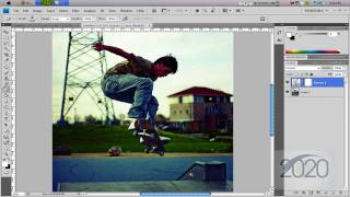 Photoshop tutorial: Lomo effect. Quick n' easy [HD]